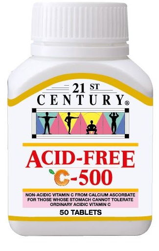 ACID FREE C 500mg for sensitive stomachs